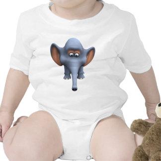 Cute 3d Elephant Bodysuits
