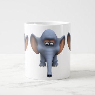 Cute 3d Elephant Extra Large Mug