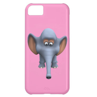 Cute 3d Elephant iPhone 5C Cases