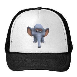 Cute 3d Elephant Mesh Hat