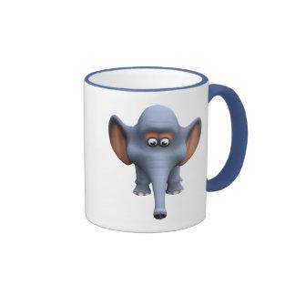 Cute 3d Elephant Mug