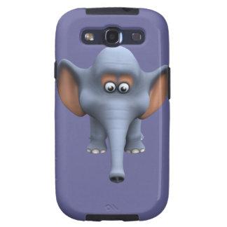 Cute 3d Elephant Samsung Galaxy S3 Covers