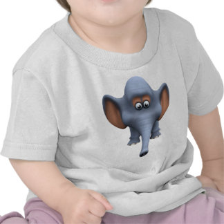 Cute 3d Elephant T-shirt