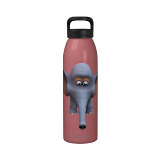Cute 3d Elephant Water Bottle