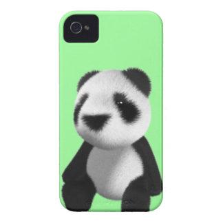 Cute 3d Panda Bear Sitting (editable) iPhone 4 Cover