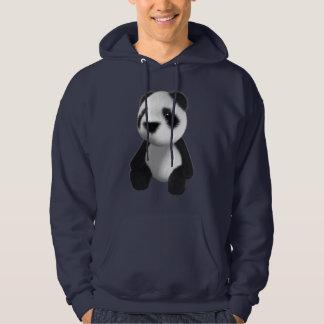 Cute 3d Panda Sitting (editable) Hoodie