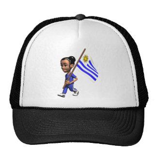 Cute 3D Uruguay Trucker Hat