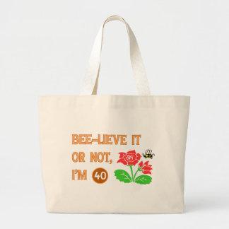Cute 40th Birthday Gift Idea Bags