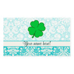 Cute 4 Leaf Clover Double-Sided Standard Business Cards (Pack Of 100)