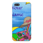 CUTE 4s ON THE BEACH iPhone 5 Cases