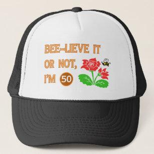 Cute 50th Birthday Gift Idea Trucker Hat