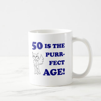Cute 50th Birthday Present Coffee Mug
