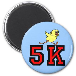 Cute 5K 2 Inch Round Magnet