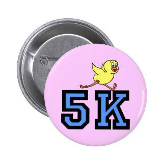 Cute 5K Pinback Buttons