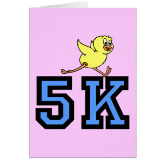 Cute 5K Card