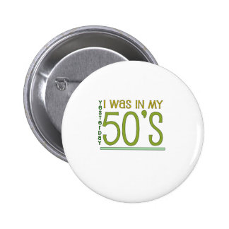 "Cute, ""60th Birthday"" design Pinback Button"