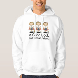 Cute A Good Book is a Great Friend T-shirt