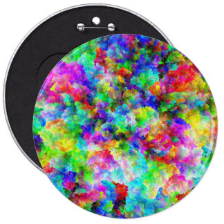 Cute abstract colorful brust texture button