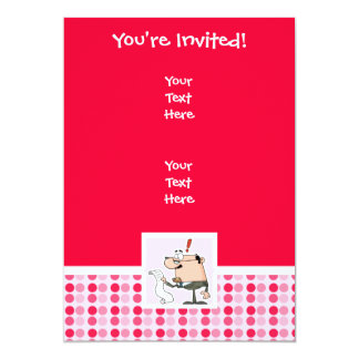 """Cute Accountant 5"""" X 7"""" Invitation Card"""