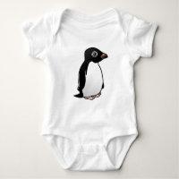 Adelie Penguin Baby Jersey Bodysuit