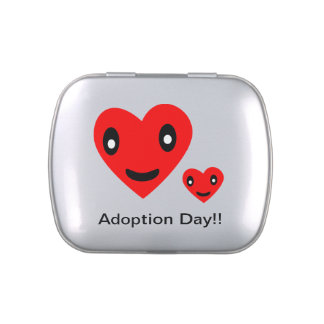 Cute Adoption Day Candy Tin