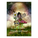 Cute Adorable Baby Bumble Bee Honey Greeting Card