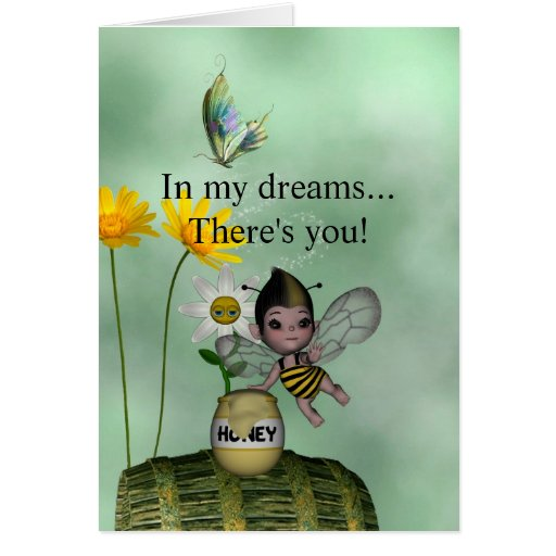 Cute Adorable Baby Bumble Bee Honey Greeting Cards