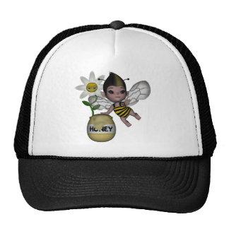 Cute Adorable Baby Bumble Bee Honey Mesh Hats