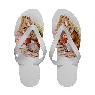 Cute Adorable Bunny Rabbits Sandals