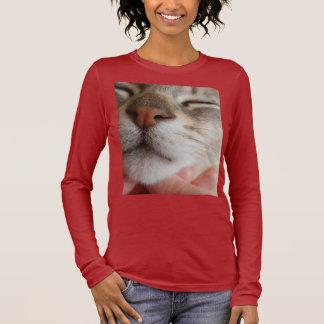 Cute Adorable Cat Face Long Sleeve T-Shirt