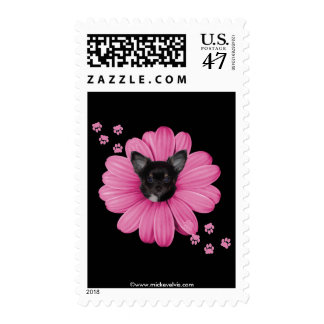 Cute Adorable Sly Heaven Chihuahua Postage