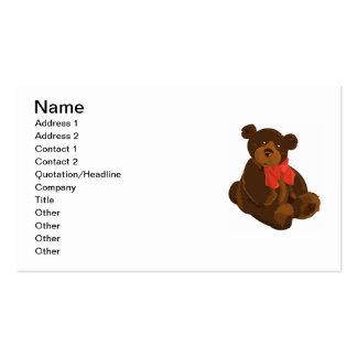 CUTE ADORABLE TEDDY BEAR BUSINESS CARD