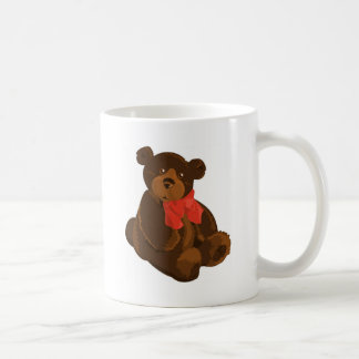 CUTE ADORABLE TEDDY BEAR CLASSIC WHITE COFFEE MUG