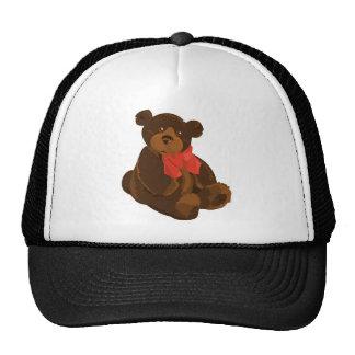 CUTE ADORABLE TEDDY BEAR TRUCKER HAT