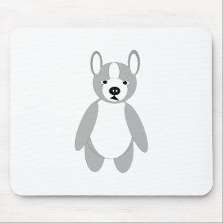 cute adoring Boston terrier Puppies Mouse Pad