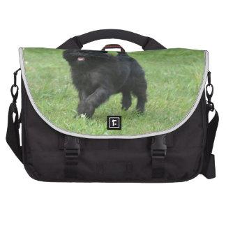 Cute Affenpinscher Dog Commuter Bags