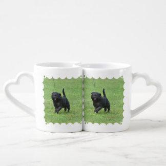 Cute Affenpinscher Dog Lovers Mug Set