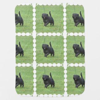 Cute Affenpinscher Dog Swaddle Blankets