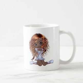 Cute African American Girl Coffee Mug