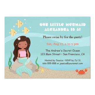 african american girls birthday invitations  announcements  zazzle, Birthday invitations