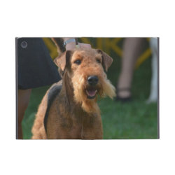 Powis iCase iPad Mini Case with Kickstand with Airedale Terrier Phone Cases design