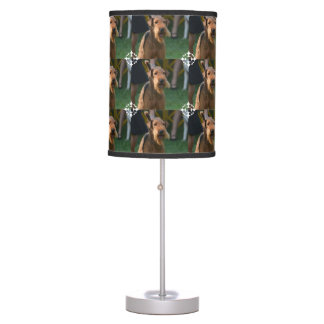 Cute Airedale Terrier Table Lamps