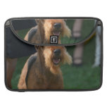 Cute Airedale Terrier Sleeve For MacBook Pro