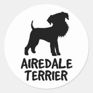 Cute Airedale Terrier Sticker
