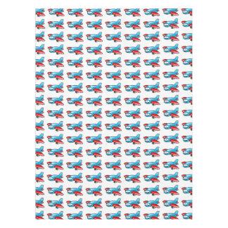 cute airplane cartoon pattern tablecloth