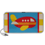 Cute Airplane Transportation Theme Kids Gifts Travelling Speaker