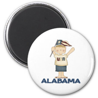Cute Alabama USA Magnet