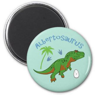 Cute Albertosaurus Magnet