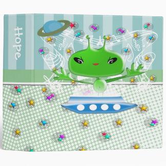 Cute Alien Binder