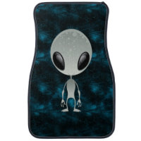 Cute Alien Car Mat